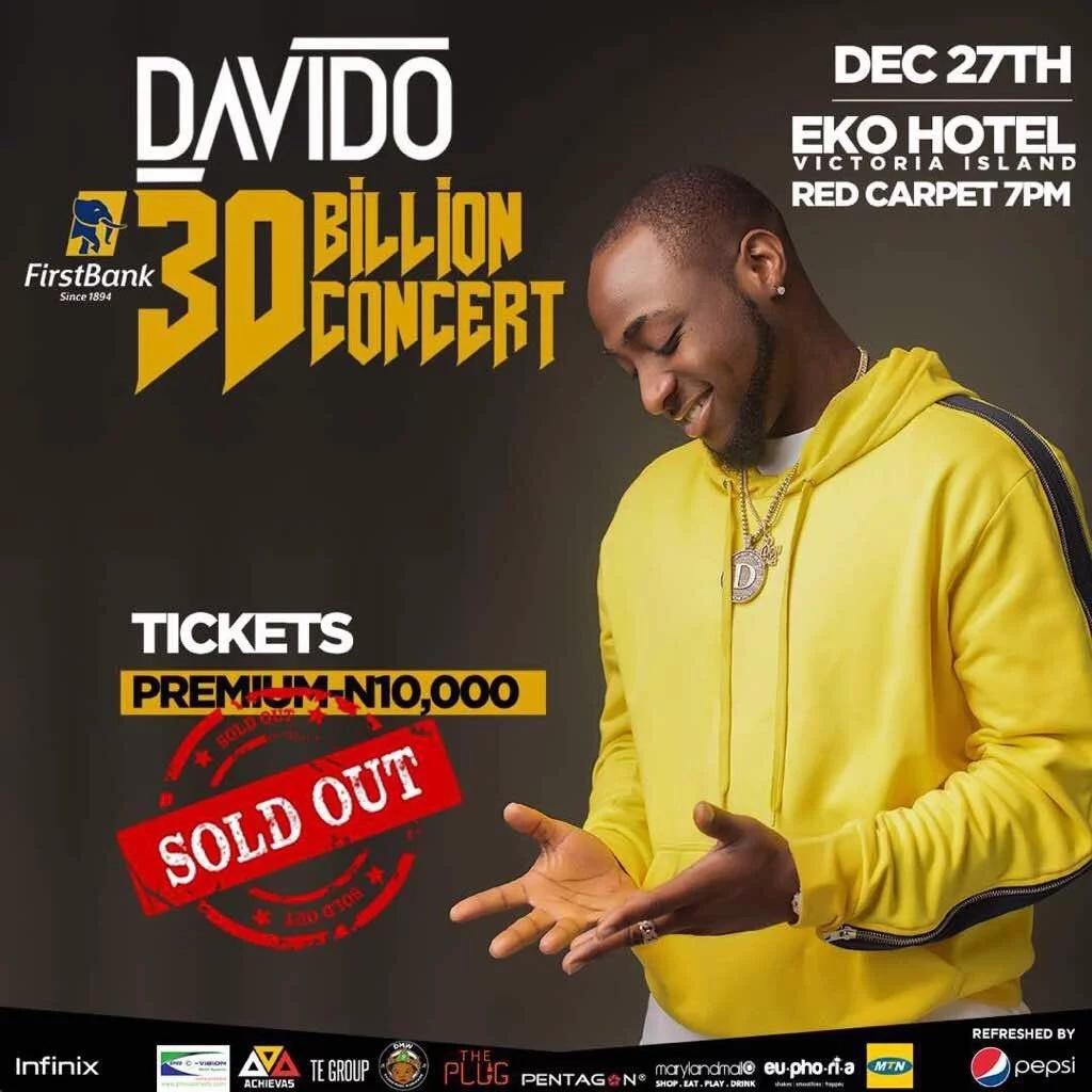 Nigeria super-star Davido buys a supercar after making half a billion in one night