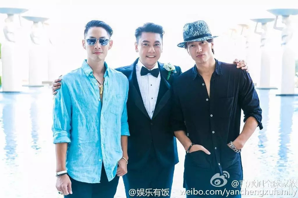 F4 reunites in member's wedding