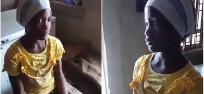 Mfanyikazi wa nyumba apatikana akimnywesha mtoto wa mwaka moja maji ya sabuni (video)