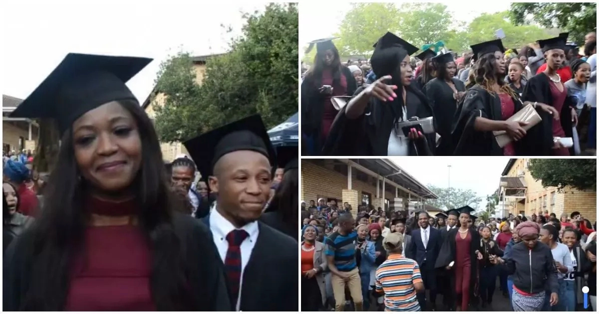 See how African community celebrates its graduates with songs and dances (photos, video)