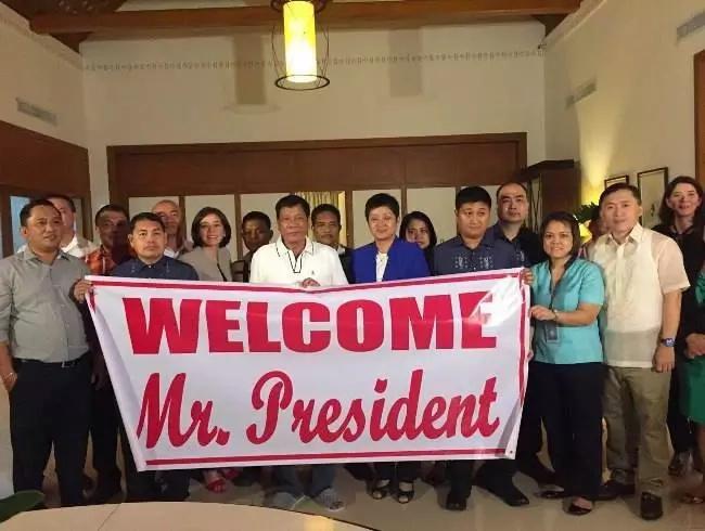 PHOTOS: Duterte had Bahay Pangarap blessed