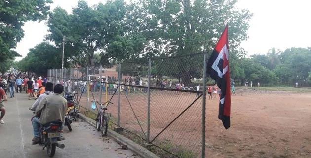 ELN instaló banderas bomba en el Cesar