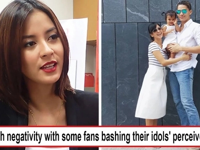 Bawal negatron na mga fans! Bianca Gonzalez laments 'too much negativity' consuming fans who bash their idols' rivals