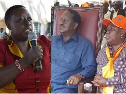 Raila Odinga's sister arrested in Kisumu