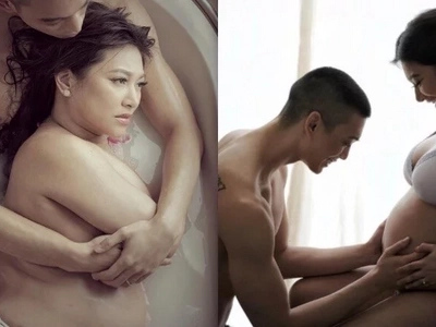 Rufa Mae Quinto sizzles in her steamy maternity shoot with husband