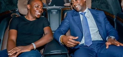 KSh 200M SportPesa jackpot winner, Abisai, spotted living large in Europe (photos)