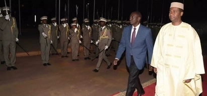 William Ruto flies out of the country a day after draining Raila and his team