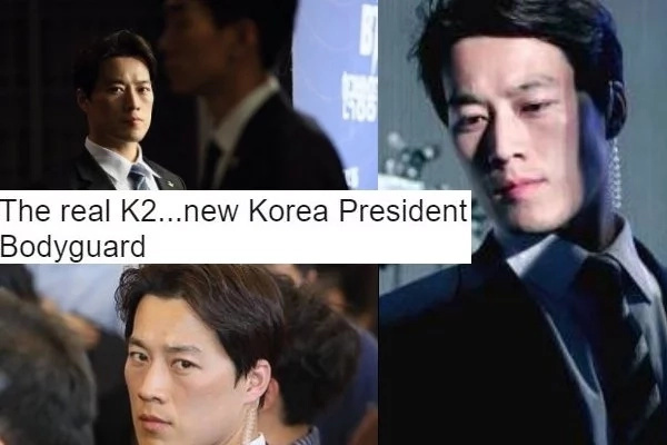 LOOK Mga Bes! South Korea's New President's Bodyguard Is So Hot!