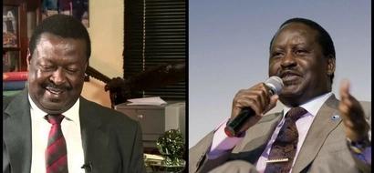 Mudavadi to join Raila Odinga before the 2017 General Election