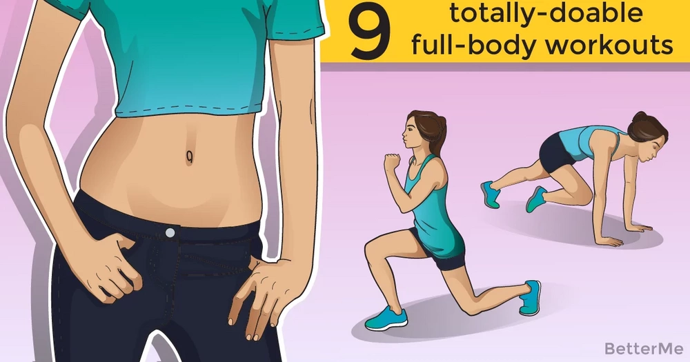 9 totally-doable full-body workouts that require no equipment