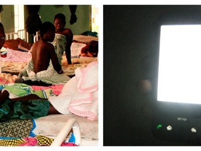 Mothers at this health centre give birth with help of PHONE LIGHTS due to lack of power supply