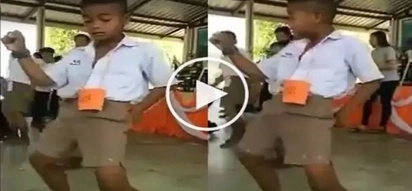 VIRAL: Could this boy's dance steps be the next famous dance challenge? Find out here