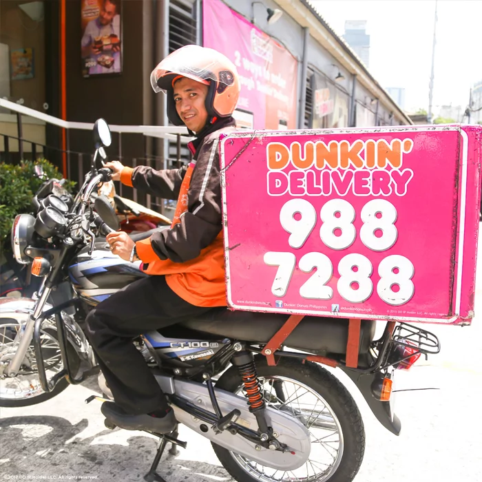 Chocobutternuts at your doorsteps! Dunkin Donuts have launched their new delivery service!