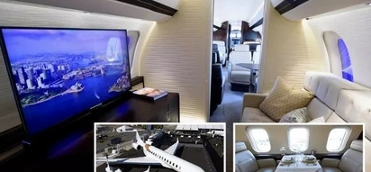 Inside Global 7000: World's biggest private jet comes with double bed, big screen, shower room and kitchen