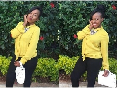 Mike Sonko's daughter clads her daughter all Jubilee(photos)