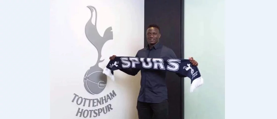 Victor Wanyama has officially been signed by Tottenham