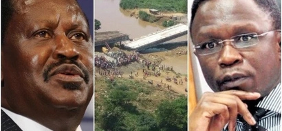 Ababu Namwamba speaks for the first time on the collapsed Sigiri bridge in his county