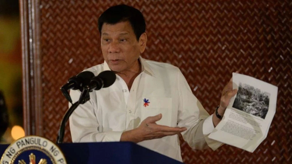 Duterte tells US forces in Mindanao to leave