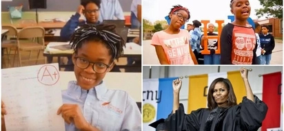 2 young girls rap about importance of education - and even Michelle Obama loves it