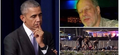 Senseless tragedy! Barack Obama says he is praying for victims of Las Vegas mass shooting