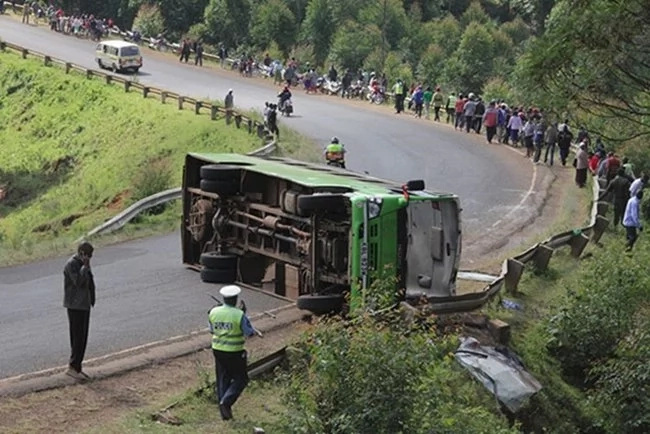 More than 14 Kenyans feared dead in grisly road accident along Webuye- Kitale road