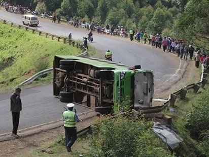 Update: Death toll in the fateful Bungoma accident rises to 19, after 5 more people succumb while undergoing treatment