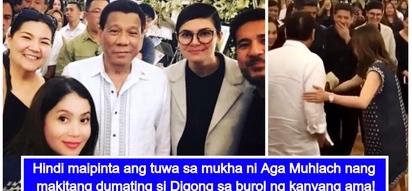 Aga Muhlach, lubos ang pasasalamat kay President Duterte sa pagpunta para makiramay sa yumao niyang ama