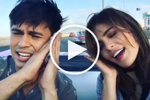 Funny na, talented pa! Tom Rodriguez and Lovi Poe shows off their lip syncing skills in Cuba