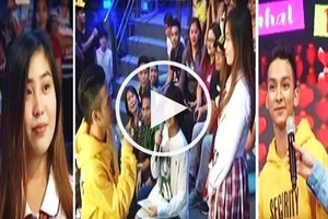 This Bebe Boy contestant had a heartbreaking encounter with his ex-girlfriend on 'It's Showtime!'