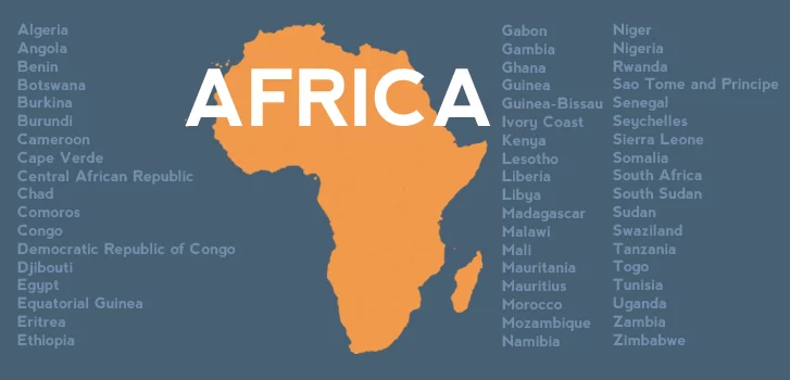 How Many Countries Are There in Africa in 2018?