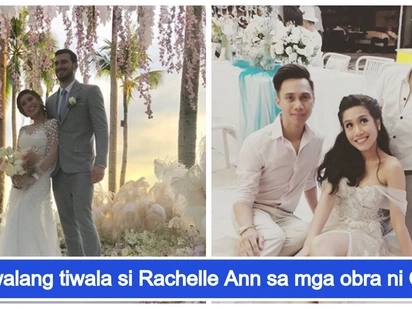 Bongga at elegante! Rachelle Ann Go's brother Oz Go is behind her beautiful wedding gowns
