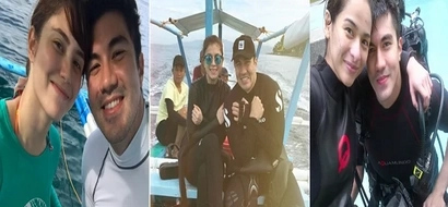 Luis Manzano takes Jessy Mendiola to diving date just like what he did to his exes