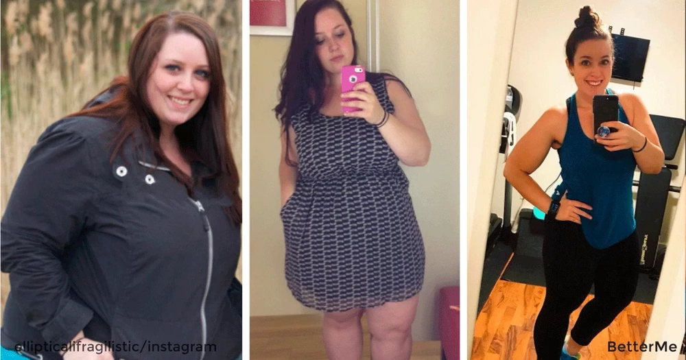 "Bri went from a size 24 to a 12, and it all began by easy ""setting goals"""