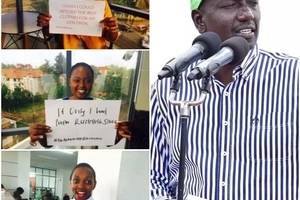 Kenyan women create this after DP Ruto's viral small paper
