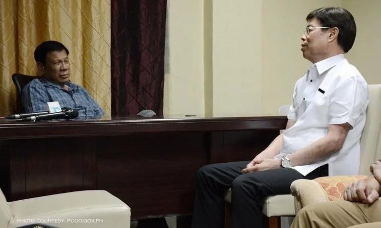 WATCH: Duterte meets Peter Lim