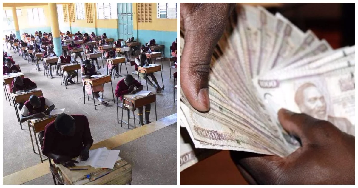 Dad to form one student collapses after realising he has to pay KSh 16,000 school fees