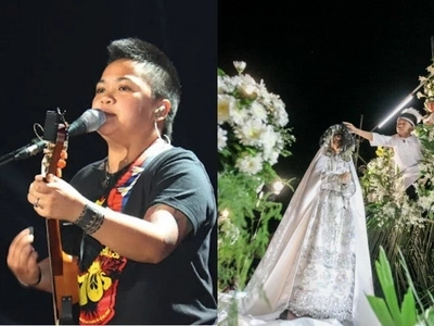 You wouldn't expect what Aiza Seguerra does before on Easter Sunday