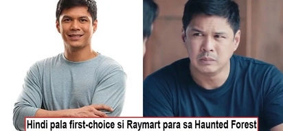 Nangingibabaw ang humble! Raymart Santiago shows what class is by accepting Haunted Forest role despite him not being original first choice!