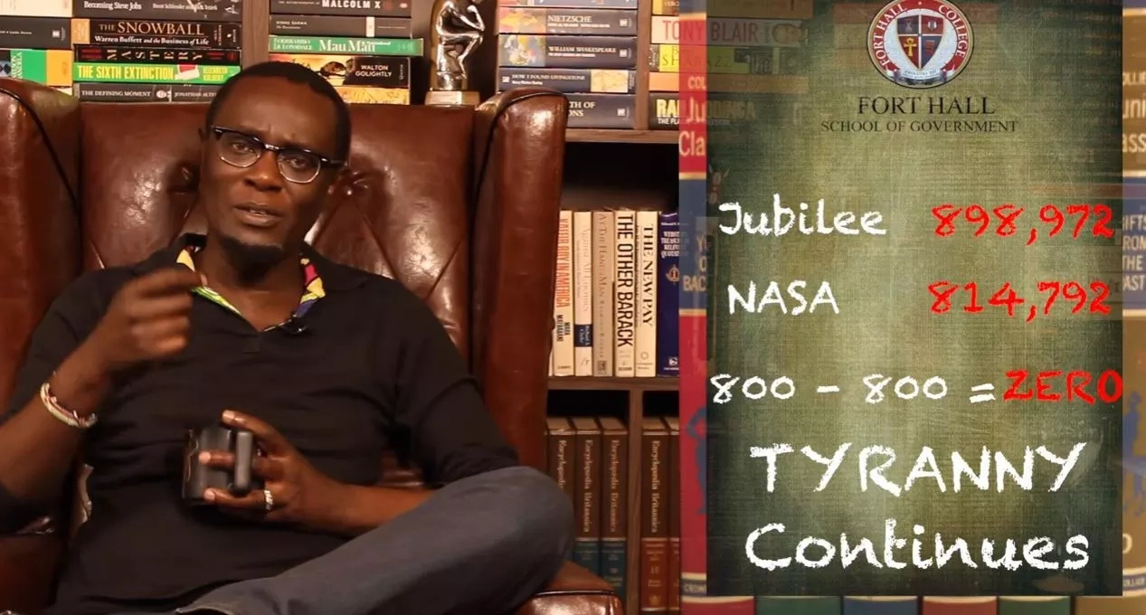 Mutahi Ngunyi in trouble for this video claiming opposition killed Mkaissery