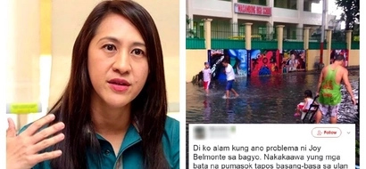 QC Vice Mayor Joy Belmonte apologized for not canceling classes earlier on July 27. Netizens responded by bashing her: 'Pabibo masyado!'
