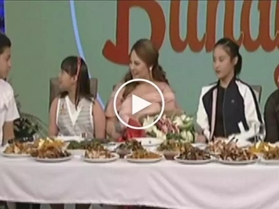 Pag mabuti ka nga namang nanay sa mga anak mo diba oh? Karla Estrada's children deliver message of thanks to Queen Mother