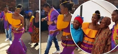 How South Africa's female athlete Caster Semenya married her girlfriend (photos)