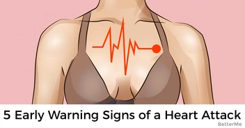 5 heart attack warnings have different symptoms in women - pay close attention to these 5 early signs!