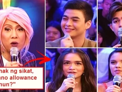 Conyo talaga! These rich kids of famous celebrities stunned Vice Ganda by telling him the amount of their daily allowance for school. Watch it here!