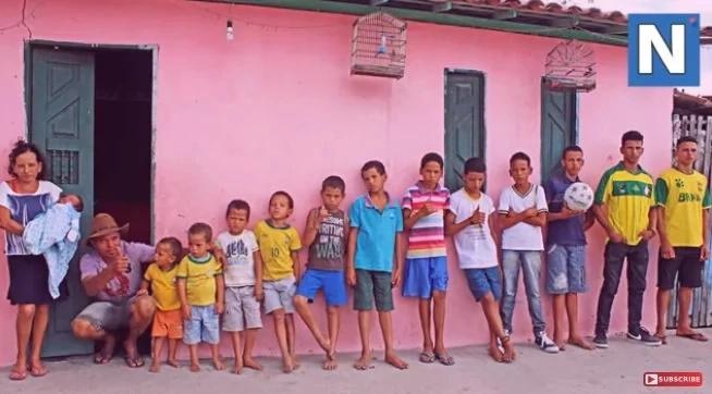 Pareja de trece hijos varones busca tener una niña
