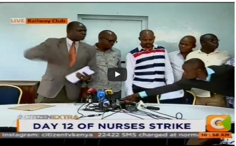 Nurses misbehave on live TV