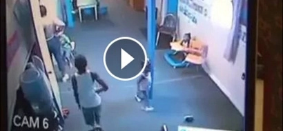 Child from hell? Boy caught biting, kicking, punching babies at daycare (video)