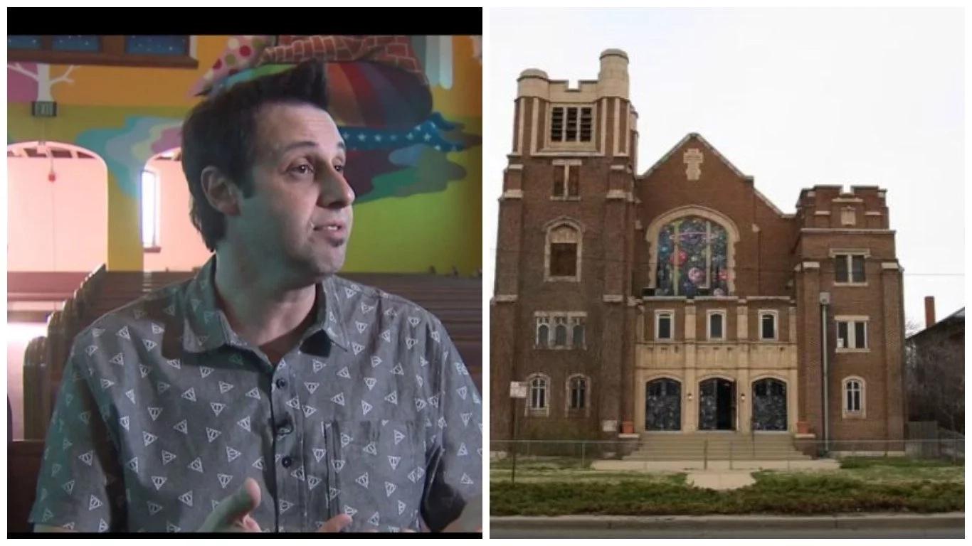 100-year-old Christian church converted into international church of cannabis (photos, video)