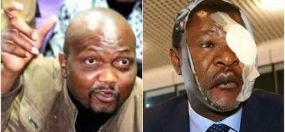 Dear Moses Wetangula- Moses Kuria tears Wetangula in this brief statement