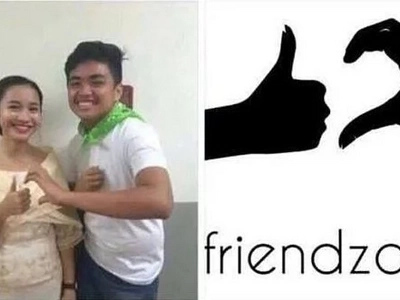 Aray! Pinoy teens unconciously invents new #friendzoned logo